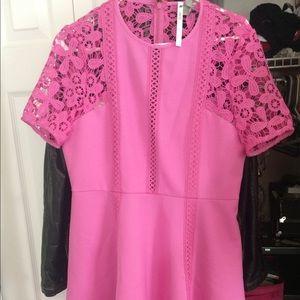 ASOS pink vintage pink dress